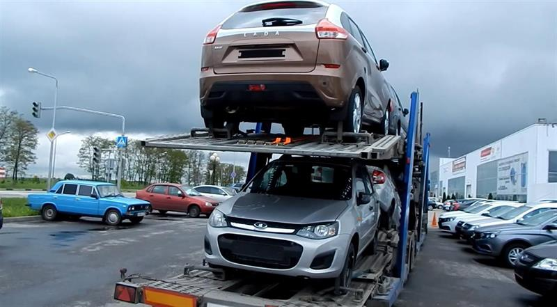 «Автоваз» столкнулся спроблемой нехватки автовозов для транспортировки машин