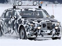 Российский лимузин «Кортеж» заметили на испытаниях