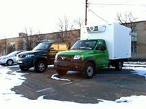 Конкурент «Газели» от УАЗа снова попался на фото, фото 1
