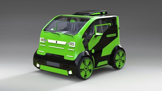 В России создали макет нового автомобиля «Провокатор», фото 3