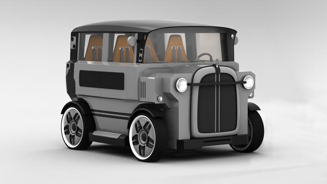 В России создали макет нового автомобиля «Провокатор», фото 6
