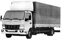 КамАЗ запатентовал маленький грузовик с кабиной Mitsubishi