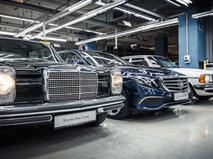 В Подмосковье будут выпускать четыре модели Mercedes