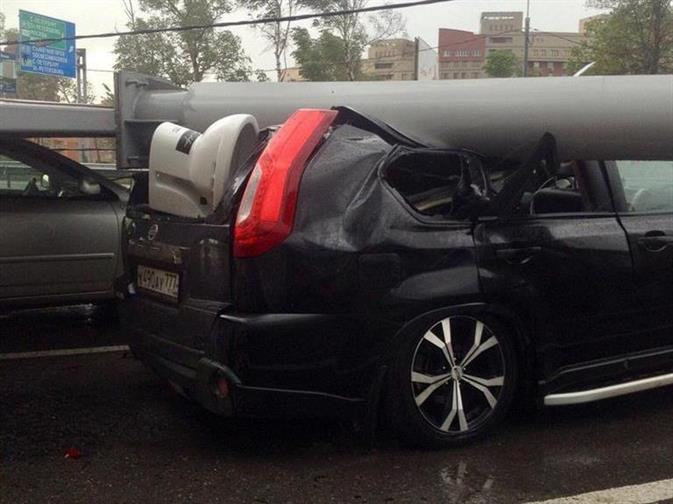 Москвичей попросили отказаться от автомобилей из-за новой бури, фото 1
