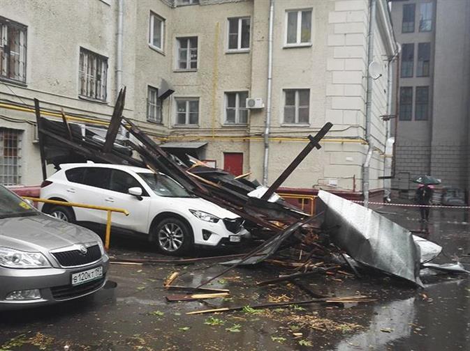 Москвичей попросили отказаться от автомобилей из-за новой бури, фото 3