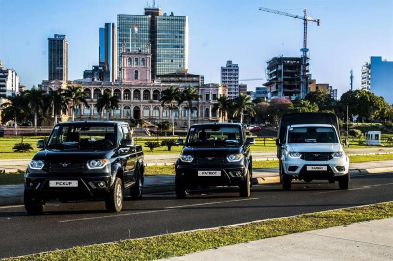 УАЗ впервом полугодии вдвое увеличил экспорт авто