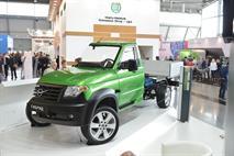 УАЗ создал гибридный грузовик