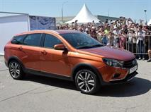 Универсал Lada Vesta Cross показали на публике