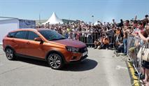 Универсал Lada Vesta Cross показали на публике, фото 1