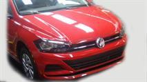 Новый седан VW Polo попался на фото, фото 1