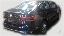 Новый седан VW Polo попался на фото, фото 2