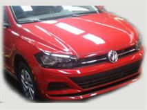 Новый седан VW Polo попался на фото