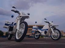 «Калашников» представил электромотоцикл ИЖ для полиции