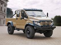 ГАЗ представил внедорожный пикап «Вепрь NEXT»