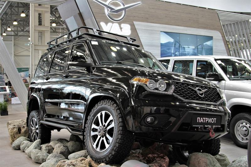 Вседорожный автомобиль УАЗ «Патриот» получил пакет «Off-road»