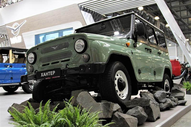 Только хардкор: UAZ подготовил Патриот ктяжелому бездорожью