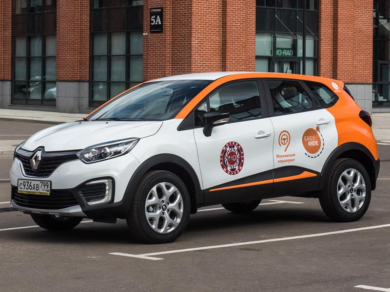 Renault Kaptur стал доступен для поминутной аренды