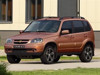 У Chevrolet NIVA появилась новая лимитированная версия