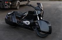 Путину показали новый мотоцикл ИЖ для кортежа, фото 1