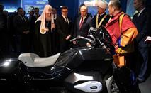 Путину показали новый мотоцикл ИЖ для кортежа, фото 3
