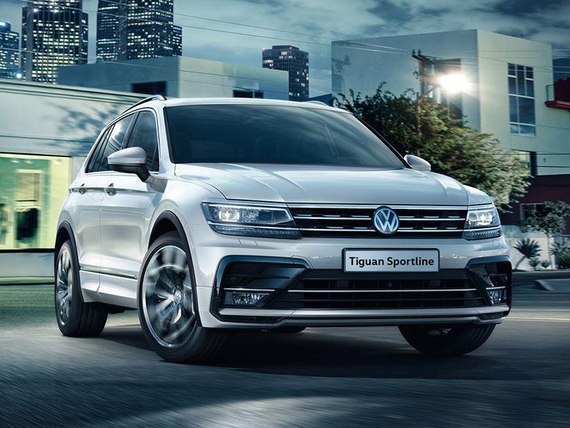 VW Tiguan получил спецверсию Sportline