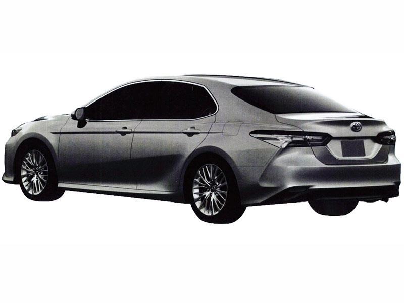 Тоёта • Тойота показала Camry для домашнего рынка