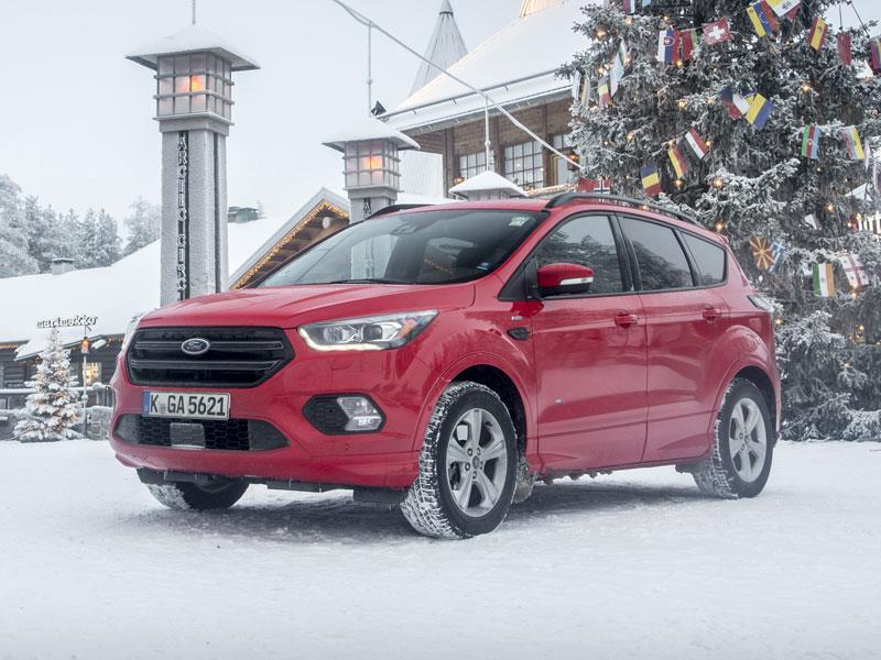 Форд Kuga иMondeo вРФ получили дистанционный запуск мотора