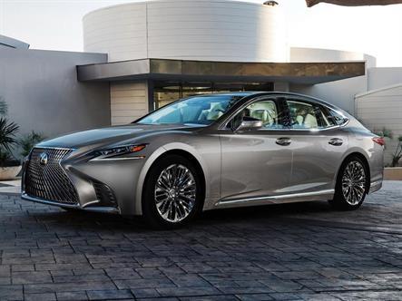 Lexus назвал рублевую цену нового LS