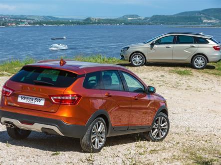 Универсалы Lada Vesta дебютировали в Германии