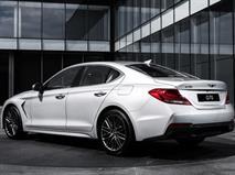 Конкурент «трёшке» BMW от Hyundai приедет в РФ с 2,0-литровым мотором, фото 2