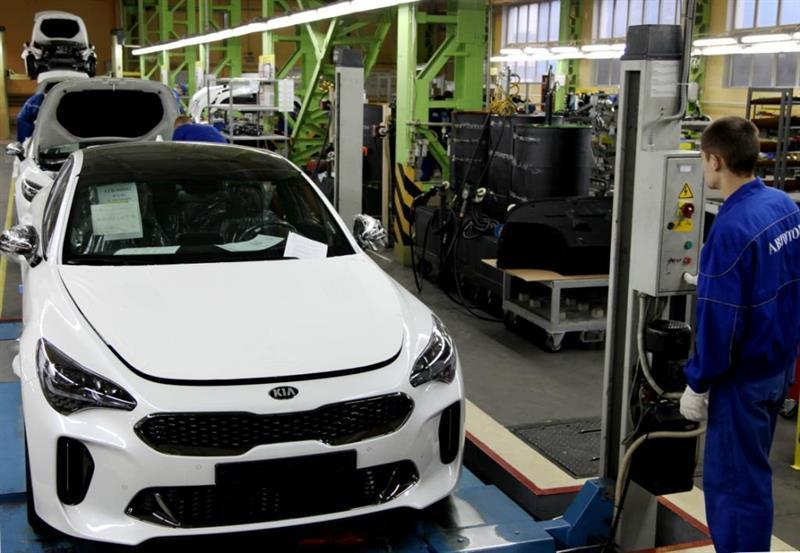 Новые Киа Stinger будут выпускать назаводе вКалининграде 123