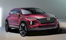 Hyundai раскрыл дизайн нового Santa Fe, фото 1