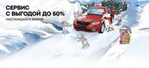 Цены падают, как снежинки! Сервис SKODA с выгодой до 50%!, фото 1