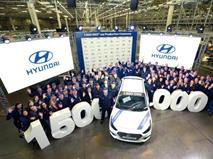 Российский завод Hyundai Motor выпустил полуторамиллионный автомобиль, фото 1