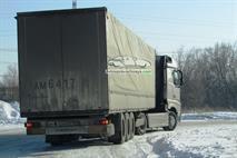 Новый КамАЗ с кабиной Mercedes заметили на дороге, фото 2