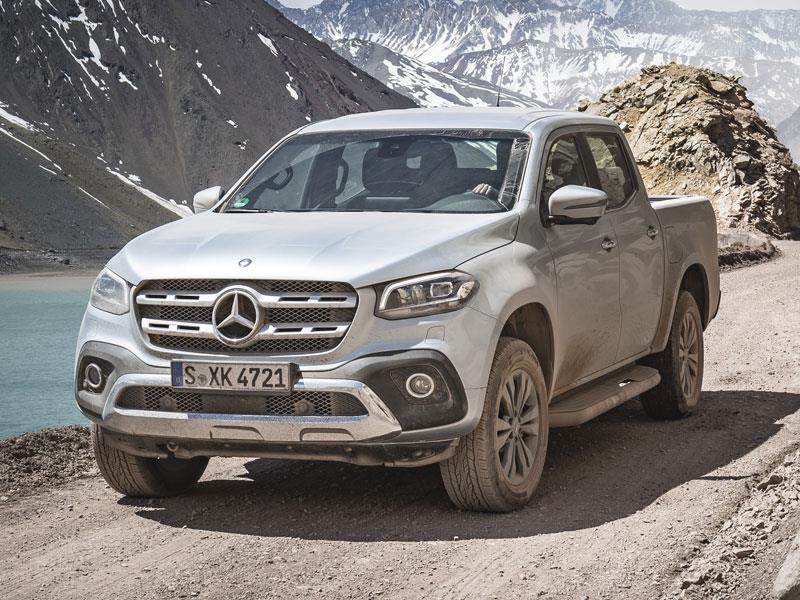 Benz сертифицировал российскую версию пикапа X-Class
