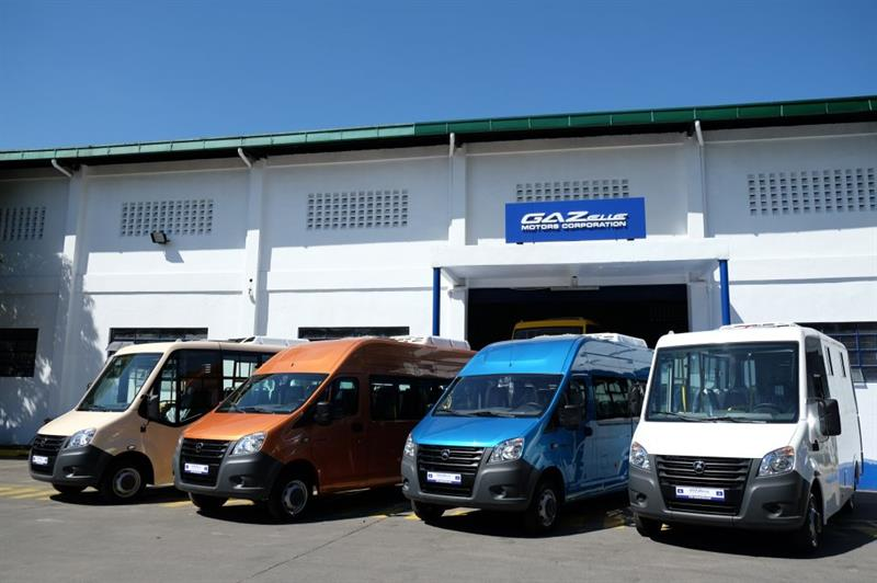 «Группа ГАЗ» наФилиппинах начала продажи микроавтобусов «ГАЗель NEXT