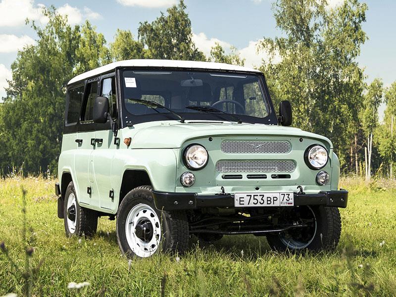 УАЗ планирует восстановить официальные продажи джипов вИталии