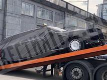 Новый лимузин «Кортеж» сняли на видео