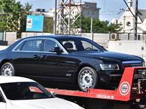 В Москве заметили новый ЗИЛ на базе Rolls-Royce