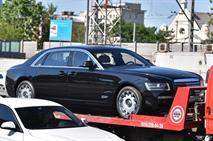 В Москве заметили новый ЗИЛ на базе Rolls-Royce, фото 1
