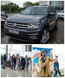 Автономия Volkswagen провел презентацию новой модели  Volkswagen Teramont, фото 3