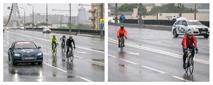 Автомобили Audi от АЦ Волгоградский возглавили колонну велосипедистов, фото 1