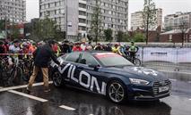 Автомобили Audi от АЦ Волгоградский возглавили колонну велосипедистов, фото 2