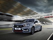 «АвтоВАЗ» представил серийную Lada Vesta Sport