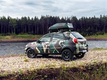 Datsun mi-Do адаптировали для охотников и рыболовов