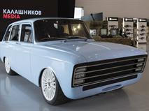 Концерн «Калашников» представил перспективный электрокар с кузовом от советского «ИЖ-Комби», фото 1