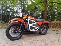 Мотоцикл «Урал» стал электрическим
