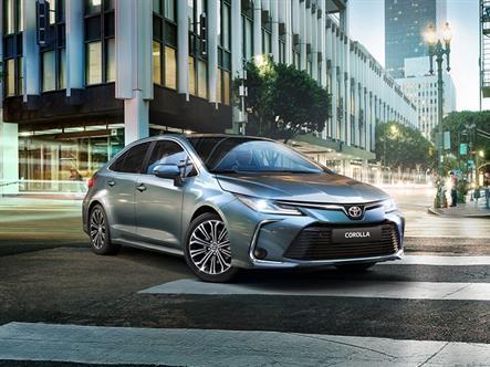 Новая Toyota Corolla получила рублевый прайс-лист