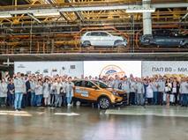 АВТОВАЗ выпустил миллионный автомобиль на платформе Renault